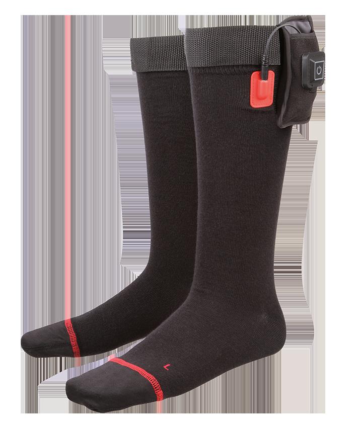 Beheizbare Socken Elektrisch Thermosocken Winter Fußwärmer Heizsocken  **